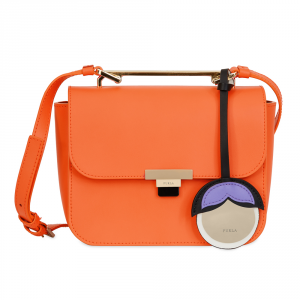 Hand and shoulder bag Furla ELISIR 941532 MANGO d