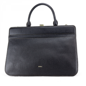 Hand and shoulder bag Furla MIRAGE 942691 ONYX