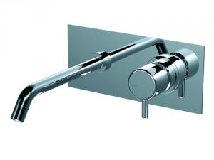 Miscelatore monocomando ad incasso per lavabo serie Reverso Ritmonio