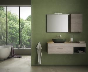 Lavabo da appoggio per il bagno cm 54 x 36 T-Edge Globo