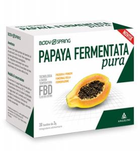 BODY SPRING PAPAYA FERMENTATA A BASSA TEMPERATURA CONFEZIONE DA 30 BUSTINE