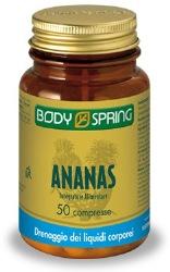 BODY SPRING ANANAS INTEGRATORE DRENANTE, ANTIINFIAMMATORIO