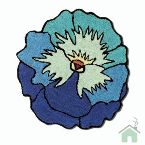 Tappeto bagno Missoni Parma Turchese blu var 5