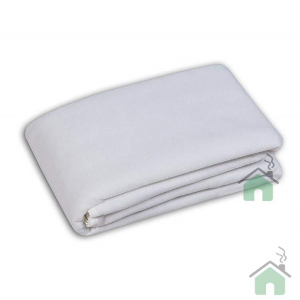 Coprirete in feltro per letto singolo