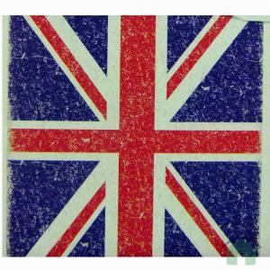 Set lenzuola Bassetti per letto singolo UNION JACK Londra 1 piazza con Bassetti