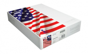 """Set lenzuola 2 piazze matrimoniale """"Usa Flag"""" by Bassetti - New Collection 2014"""