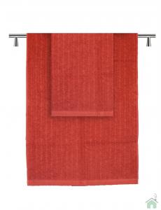 Set asciugamani 1+1 Missoni Home Orio var. rosso