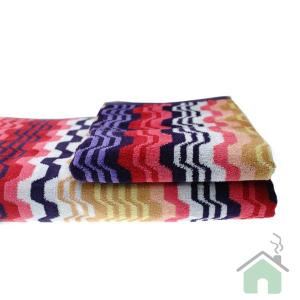 Set asciugamani Missoni Home 1  Telo + 2 asciugamani + 2 ospiti LARA 156