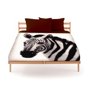 Set lenzuola bassetti by gardone per letto matrimoniale fondo bianco zebra - Set letto matrimoniale ...