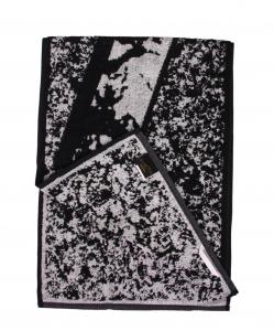 Diesel asciugamano da palestra fitness in spugna di puro cotone var. grigio