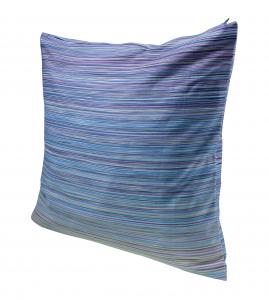 Missoni Home Fodera per Cuscino Fine serie 45x45 cm Jill Blu