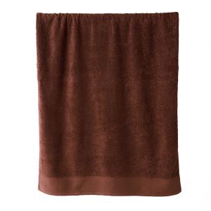 Telo bagno in spugna di puro cotone 450 grammi  cacao 100x150