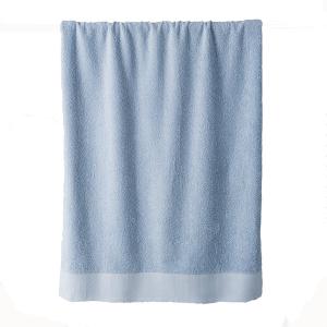 Telo bagno in spugna di puro cotone 450 grammi Azzurro Cielo100x150