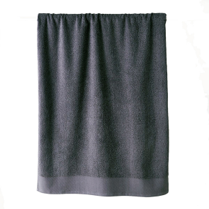 Telo bagno in spugna di puro cotone 450 grammi Grigio Fumo 100x150