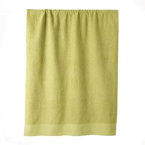 Telo bagno in spugna di puro cotone 450 grammi Verde mela 100x150