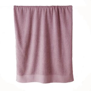 Telo bagno in spugna di puro cotone 450 grammi Malva 100x150
