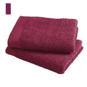 Asciugamano in spugna di puro cotone 450 grammi Amarena 60x100