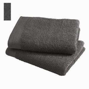 Asciugamano in spugna di puro cotone 450 grammi Grigio fumo 60x100