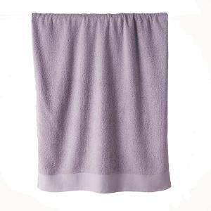Telo bagno in spugna di puro cotone 450 grammi Lilla crocus 100x150