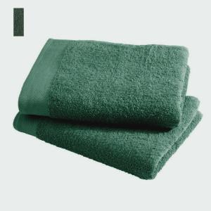 Asciugamano in spugna di puro cotone 450 grammi muschio 60x100