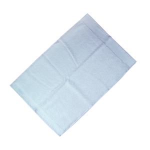 Happidea asciugamano ospite in spugna Voglia di Colore 450 grammi 40x60 cm - cielo