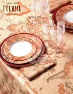 Alviero Martini Tovaglia 90 x 90 Table cloth Pangea 1Classe