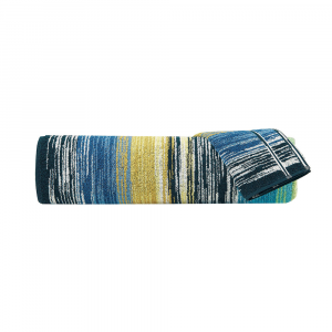 Set Asciugamani Missoni 1 asciugamano + 1 ospite STANLEY 170 multicolore