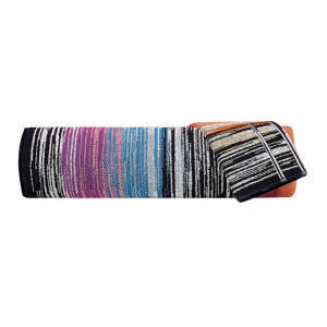 Set Asciugamani Missoni 1 asciugamano + 1 ospite STANLEY 159 multicolore