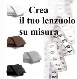 Crea il tuo lenzuolo su misura con angoli ISTAR