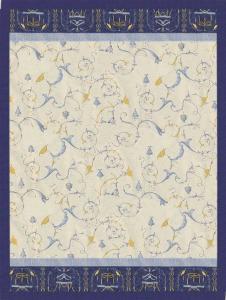 Bassetti Plaid Granfoulard 155x220 cm OPLONTIS var.9 blu Idea regalo originale