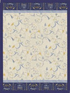 Bassetti Plaid Granfoulard 270x250 cm OPLONTIS var.9 BLU Idea regalo originale