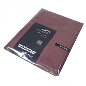 Federa 50x80 cm 100% raso di cotone Zucchi Collection - var. 1771 fango