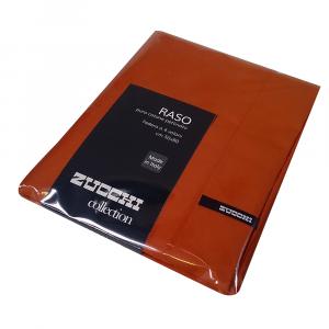 Federa 50x80 cm 100% raso di cotone Zucchi Collection - var. 1503 arancione
