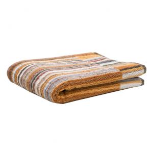Tappeto bagno Missoni Home Jazz 160  60x90 sui toni del marrone