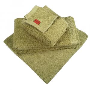 Missoni set bagno 5 pezzi 1 Telo 2 asciugamani 2 ospiti unito verde ORIO