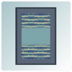 Bassetti Plaid Granfoulard 135x190 cm TORMALINE var.3 blu Idea regalo originale