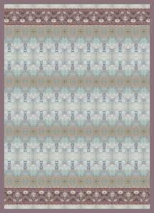 Bassetti Plaid Granfoulard 270x250 cm TAFFETA' var 2  Azzurro regalo originale