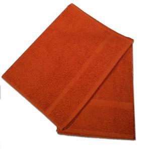 Set 1+1 asciugamano e ospite in spugna Borbonese PRECIOUS var. ruggine