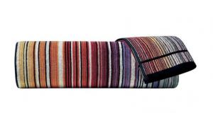 Set asciugamani Missoni Home 1  Telo + 2 asciugamani + 2 ospiti TABATA 159 caldo