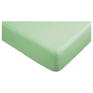 Lenzuola con angoli matrimoniali per letti grandi 190x215 cm - verde chiaro