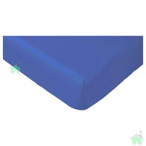 Lenzuola con angoli matrimoniali per letti grandi 190x215 cm - bluette