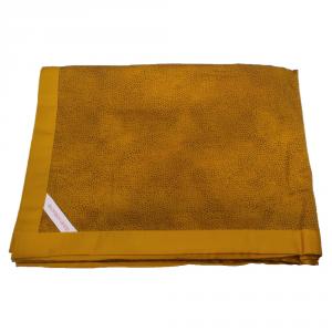 Granfoulard telo arredo copritutto Borbonese in raso MISE 180x270 cm senape