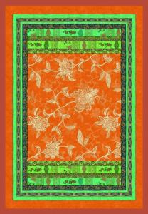 Bassetti Plaid Granfoulard 135x190 cm PONZA V.9 arancione Idea regalo