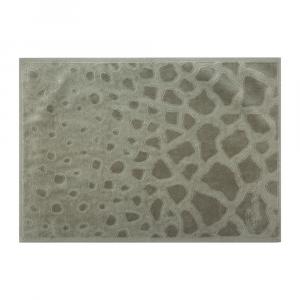 Roberto Cavalli telo da bagno JERAPAH grigio spugna di puro cotone
