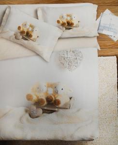 Set lenzuola Stampa digitale 3d AGNELLINI 2 piazze matrimoniale