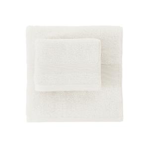 Set bagno in spugna 1+1 medio e ospite SOLO TUO Zucchi - var. bianco 1000