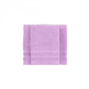 Set asciugamano e ospite BASSETTI TIME 370 grammi unita - pervinca 1811