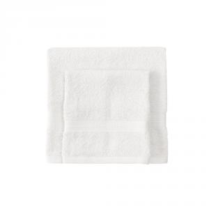 Set asciugamano e ospite BASSETTI TIME 430 grammi unita - bianco 1000