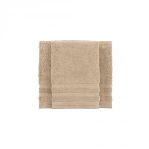Set asciugamano e ospite BASSETTI TIME 370 grammi unita - ecrù 1606