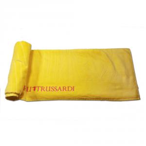 Telo mare Trussardi 100x170 Link giallo sole spugna di puro cotone